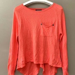 Anthropologie Tunic Top Long Sleeve Boat Neck